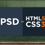 PSD to HTML5 & CSS3