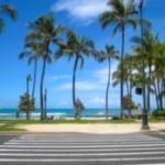 Kalakaua Avenue, Waikiki, Hawaii